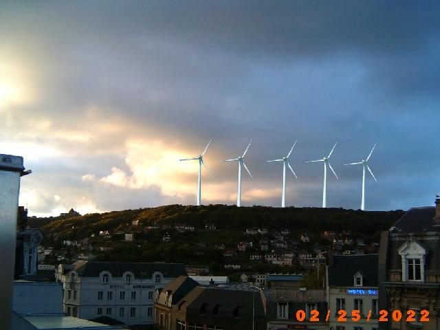 Intégration des futures éoliennes