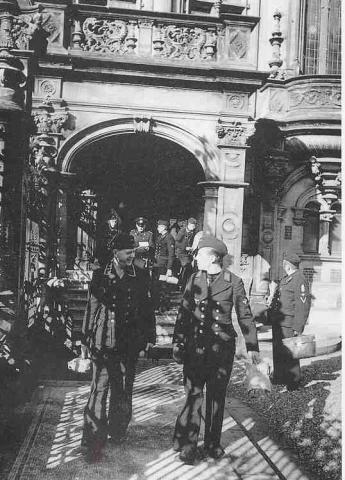 La Benedictine en temps de guerre