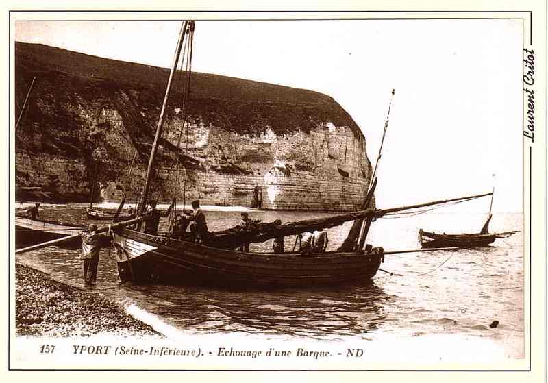 YPORT   Echouage d une barque