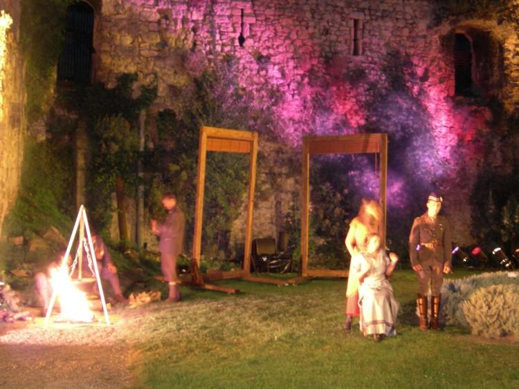 Roméo et Juliette à l'abbaye