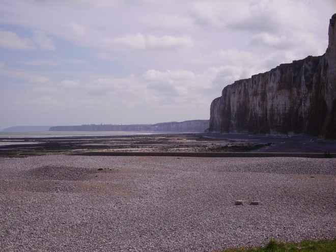 les falaises normande