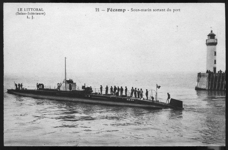 Sous-marins à fécamp