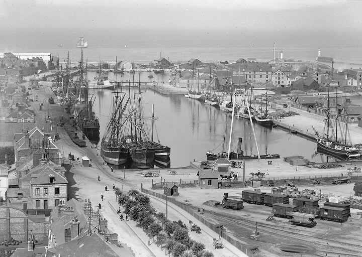 vue général du port