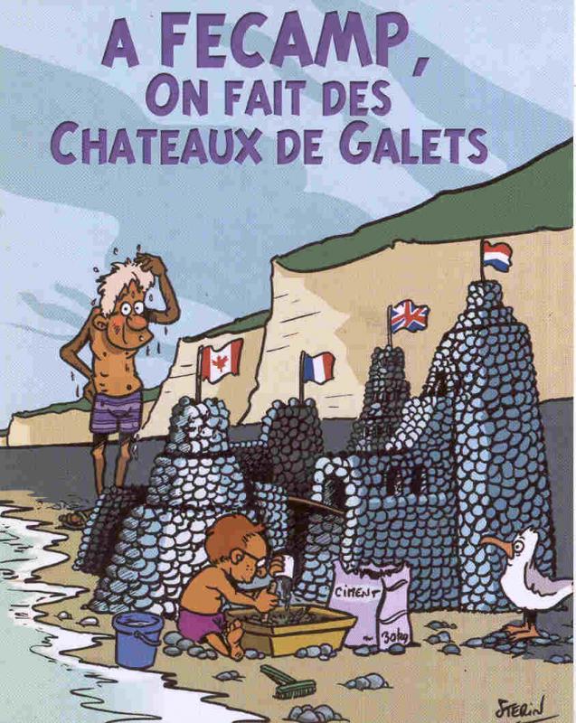 Chateaux de galets