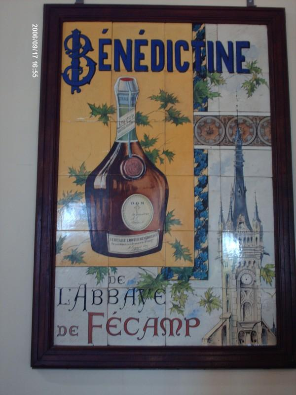 tableau de La Bénédictine