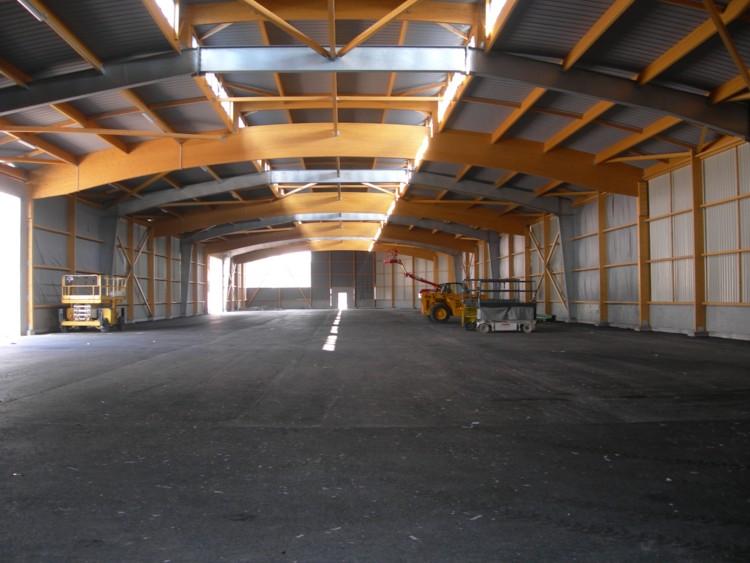 Hangar Suède (quai de la marne), vu de l'intérieur (06/0
