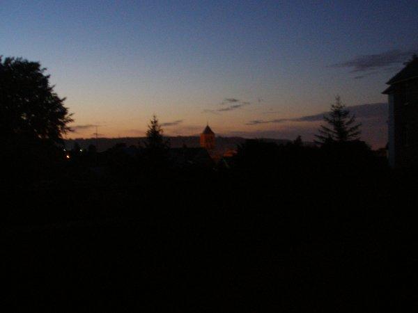 Lever de soleil 8 juillet 07