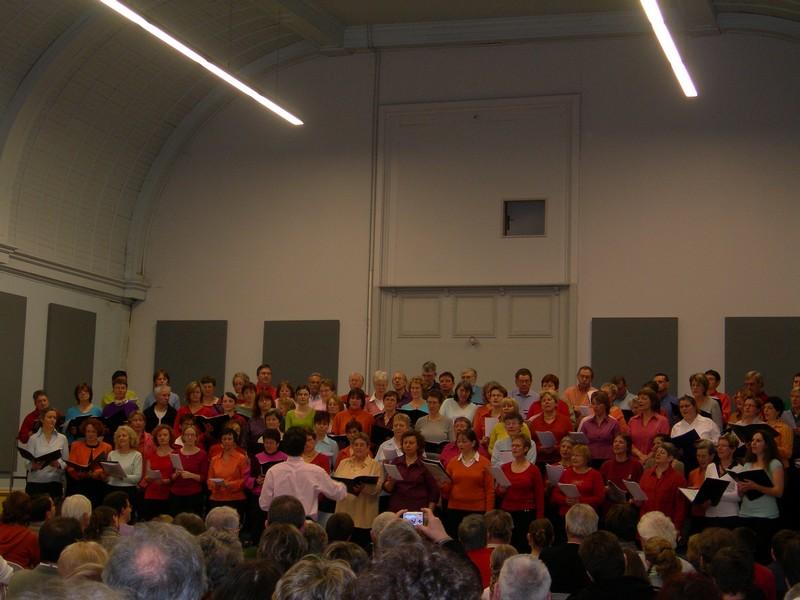 Chorale MJC&Hopital pour le secours populaire