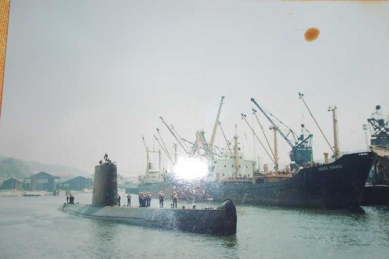 sous -marin à Fécamp