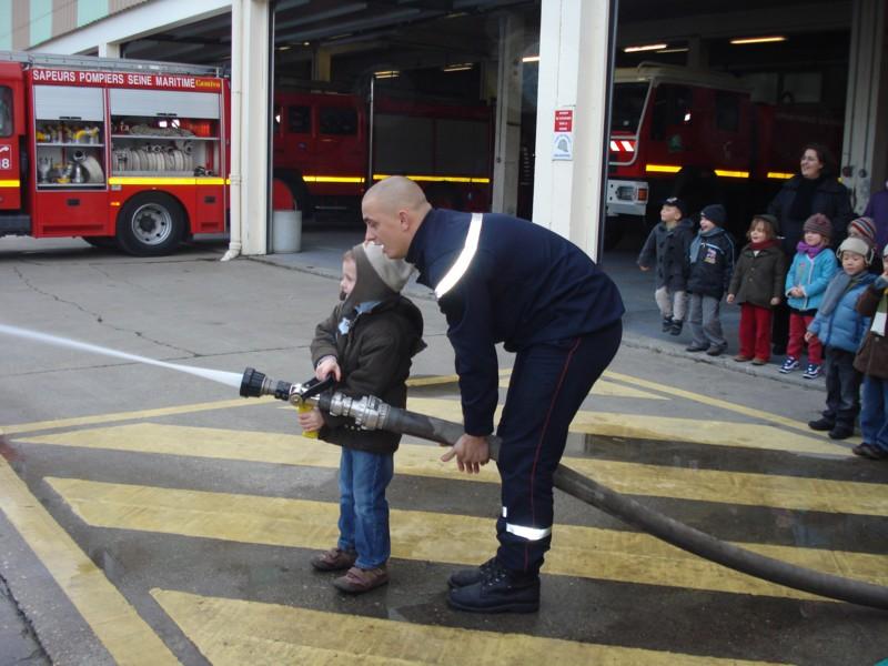 Pompier Fécampois en démonstration