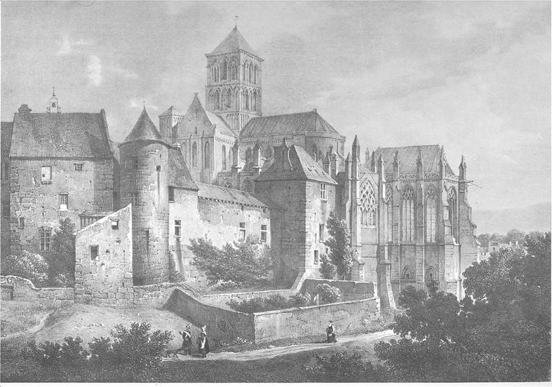 Abbaye de Fécamp - Villeneuve/Engelmann - 1821