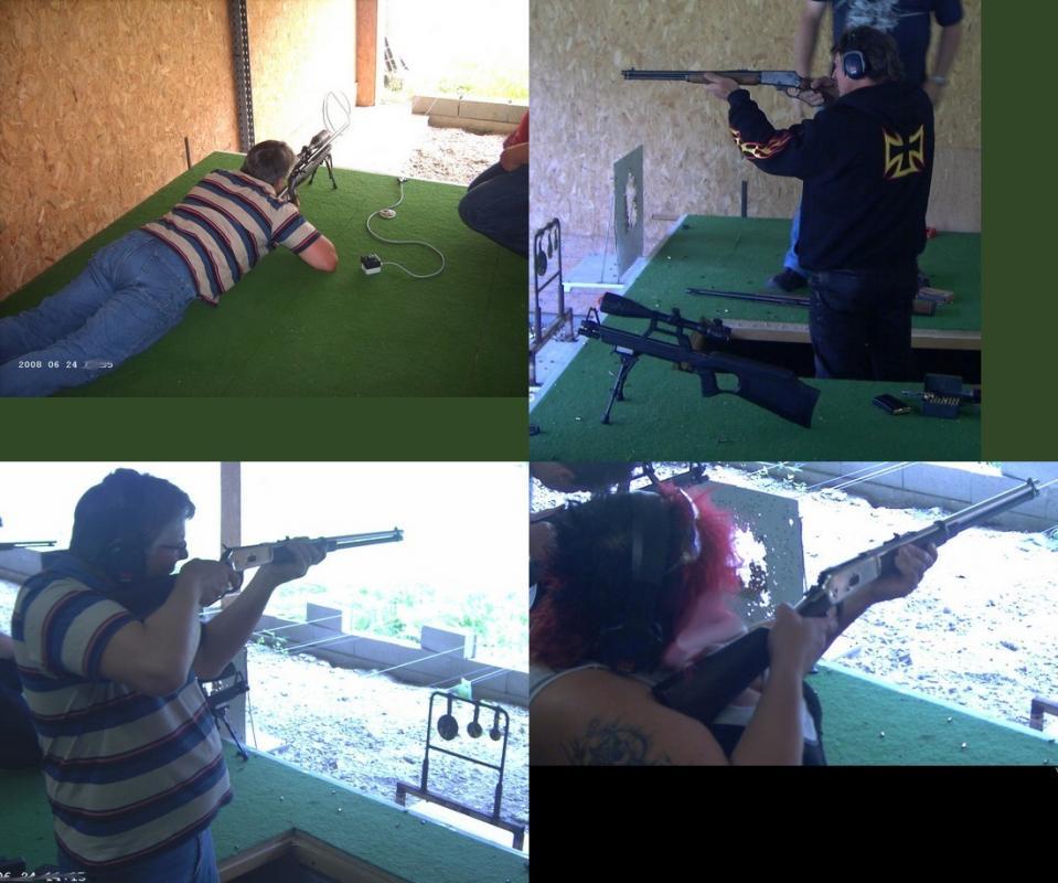 essai de carabine
