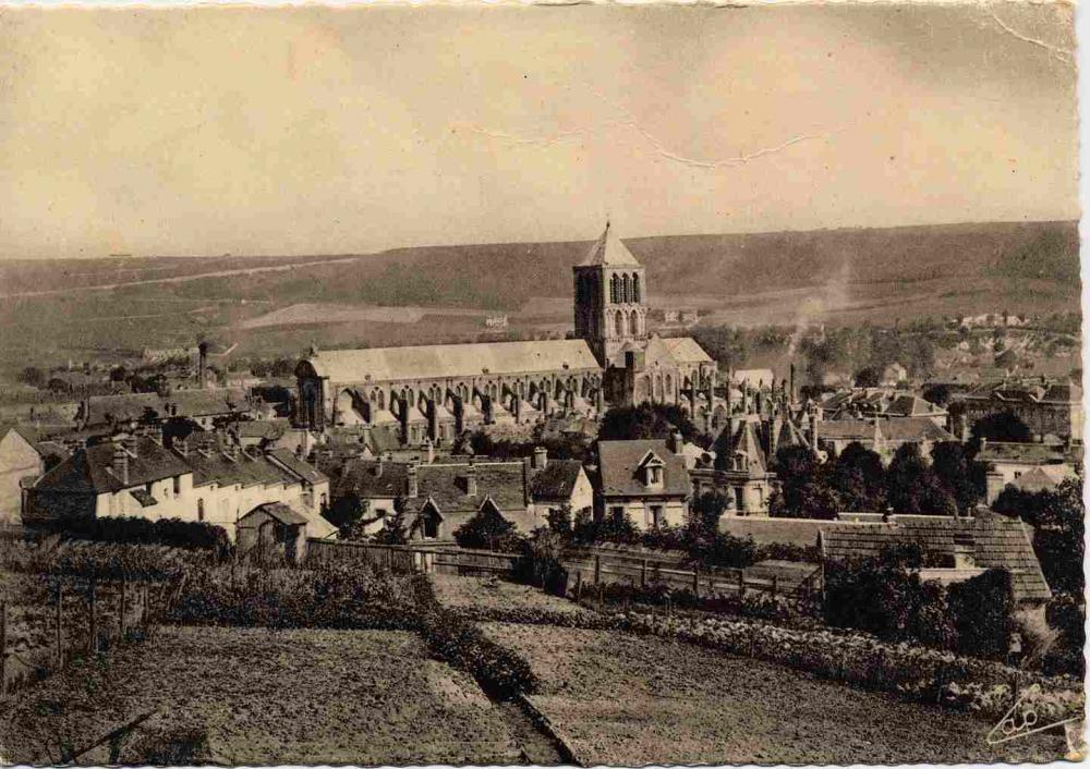 abbaye vue du sud