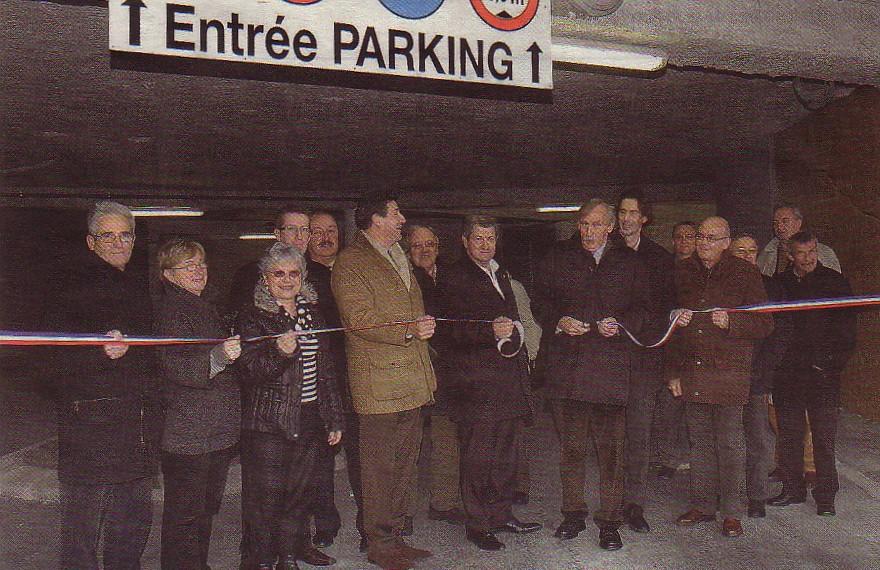 Inauguration Parking souterrain Espace Maupassant