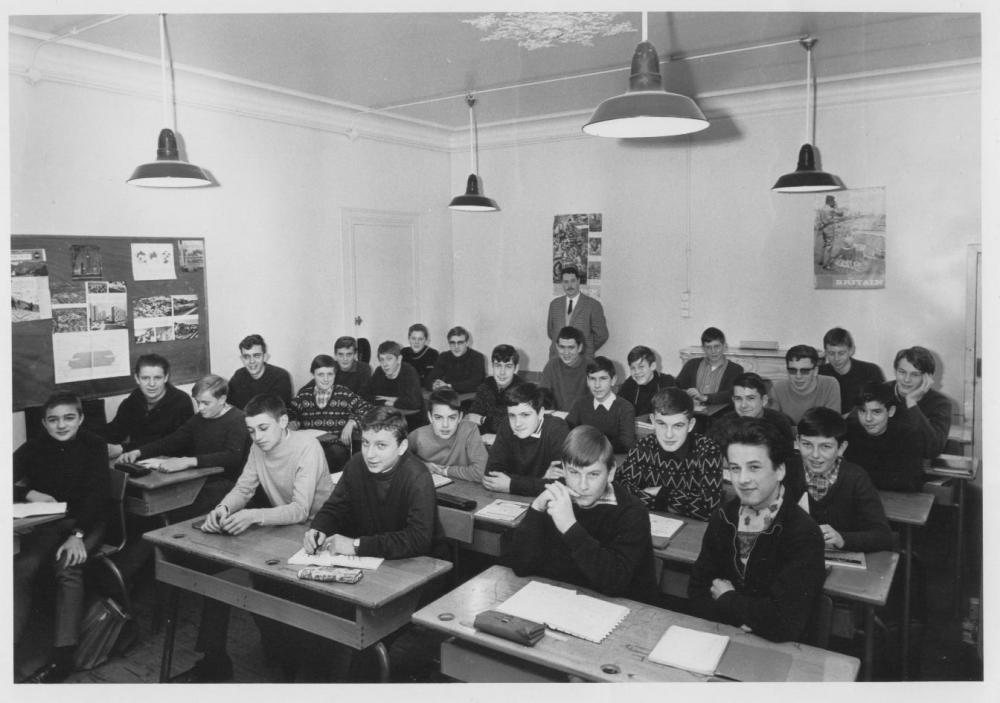 C.E.G. Paul Bert (année scolaire 1966-67)