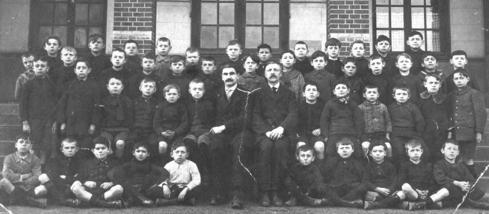 L'Ecole du Port (sans doute vers 1920)