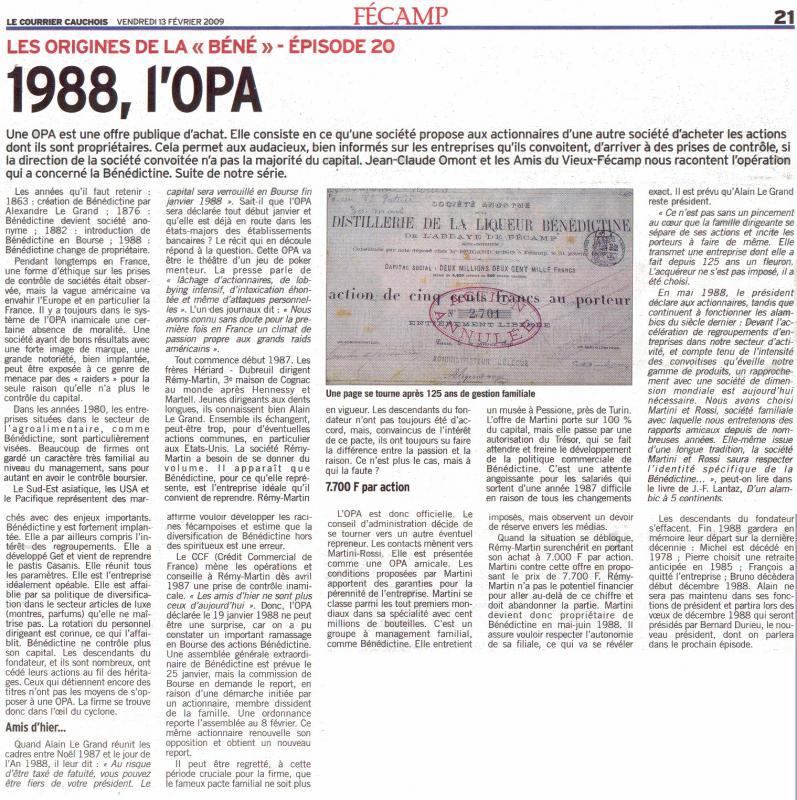 l1988 , l'OPA