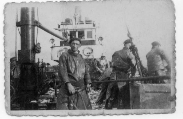 a bord  du charles vaillant 1948