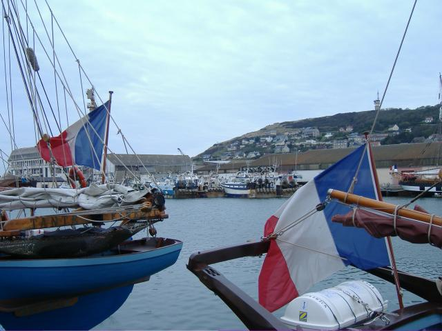COQUILLARDS au PORT