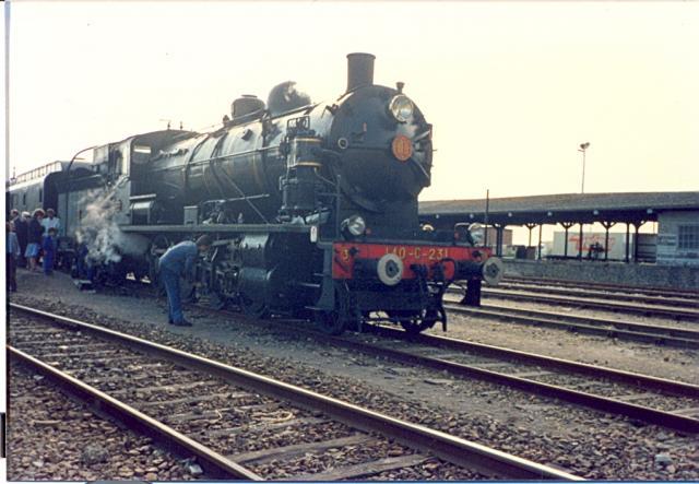 Train à vapeur (A.J.E.C.T.A. 140.C.231)