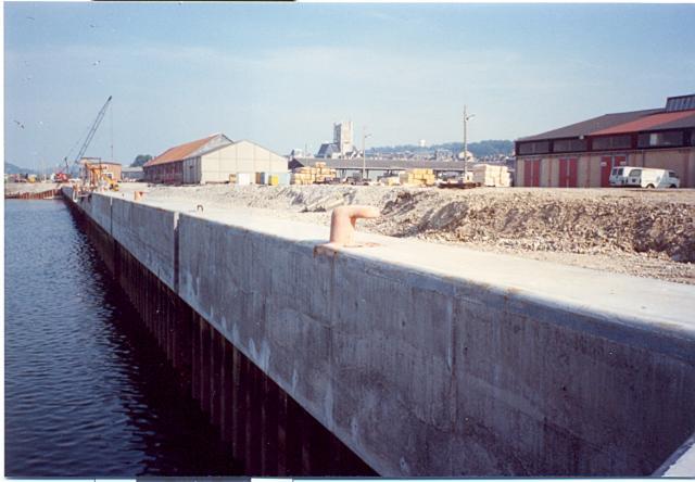 Construction du Quai Sadi Carnot