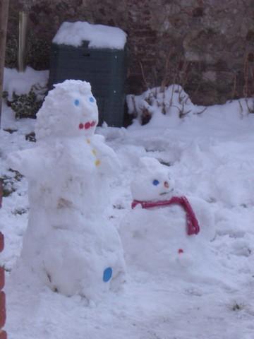 couple de neige