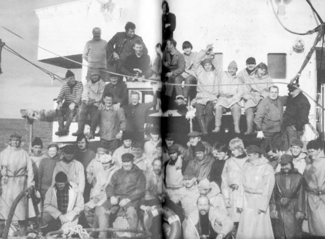 equipage du SHAMROCK 1979_1980