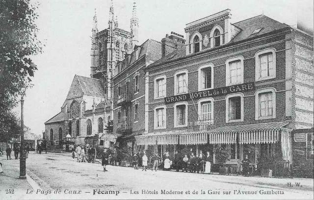 Grand Hôtel de la Gare et Hôtel Moderne Avenue Gambetta