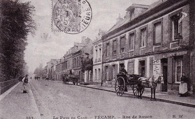 Route de Rouen  (rue G.Couturier)