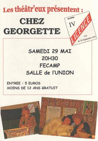 Chez Geogette le 29 mai 2010