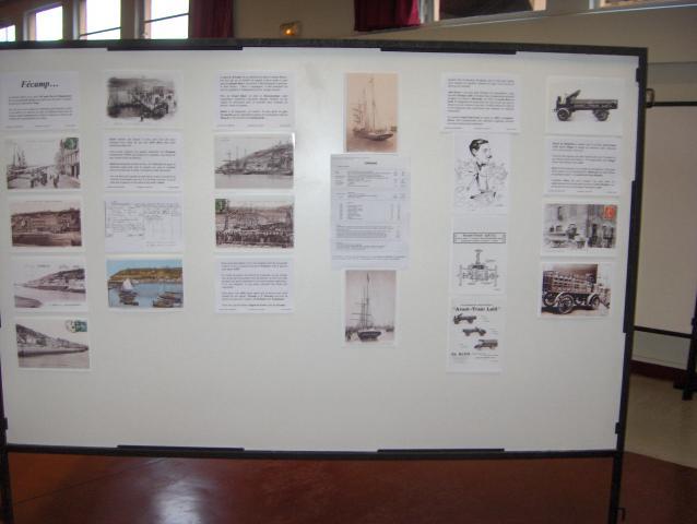 Exposition Henry de Monfreid : panneau 2 Fécamp