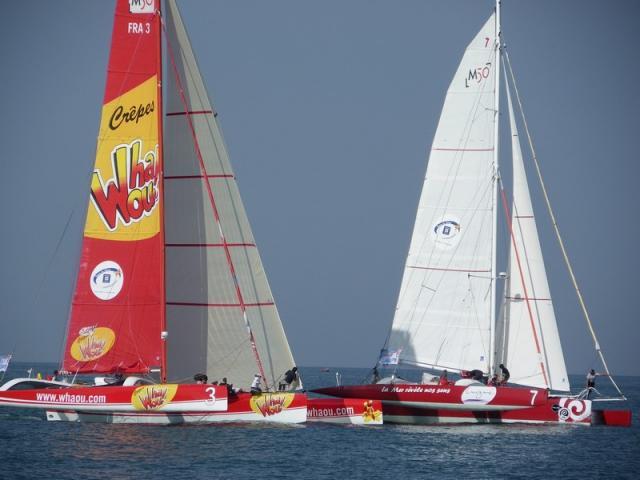 Trophée des Multicoques- Salon nautique 2010