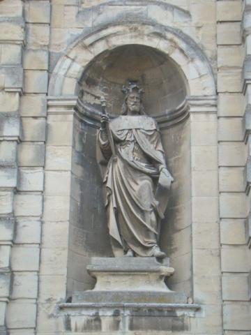 Façade de l'Abbaye
