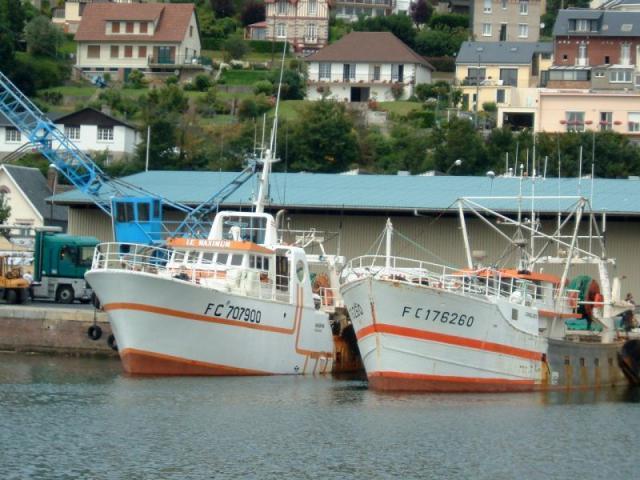 Maximum et lockeloos a cul au quai en février 2001