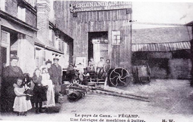 Fabrique de machines agricoles, rue Charles Le Borgne