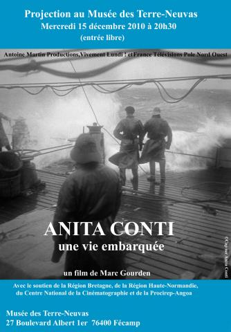 PROJECTION AU MUSEE DES TERRE NEUVAS - ANITA CONTI