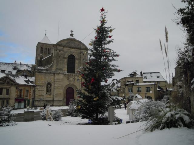 L'Abbaye à Noel et sous la neige