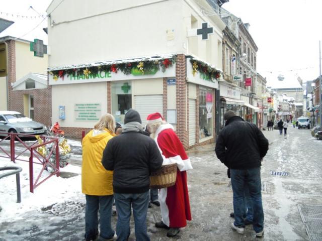 Père Noel rue pietonne