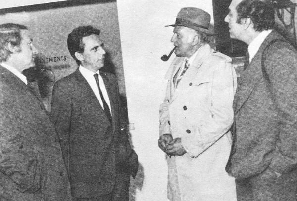 Le Commissaire Maigret (Jean Richard) à Fécamp