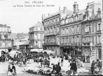Place Thiers, jour de marché