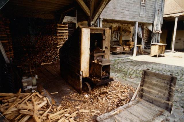 machine a fendre le bois
