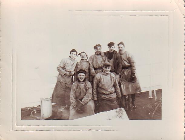 marins posant pour la photo