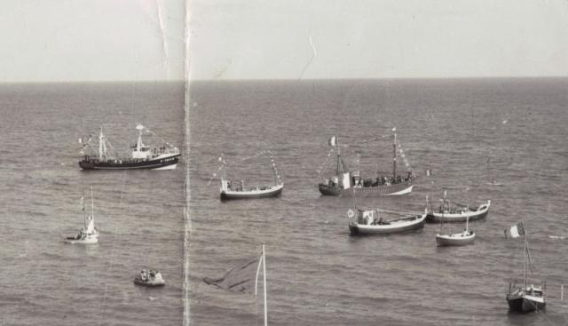 fete de la mer a Yport , vers 1967