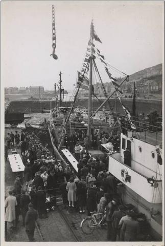 1948 Inauguration du Duc de Normandie