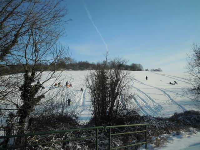 """La station du """"petite montagne"""" du Val aux Clercs"""