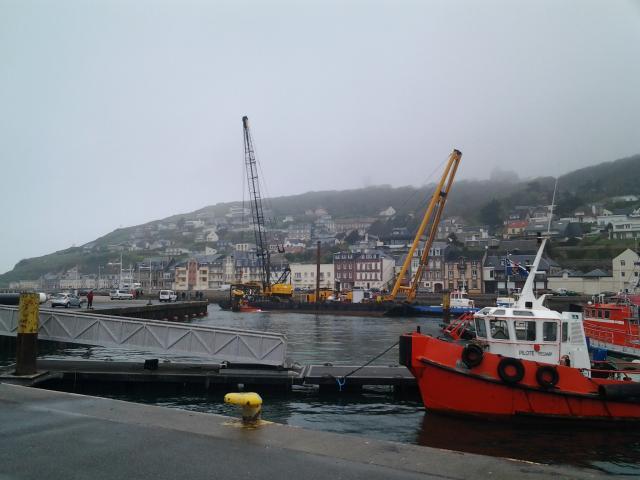 travaux portuaire