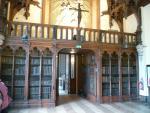 La salle Gothique, la bibliothèque