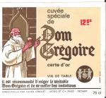 Dom Gregoire carte OR
