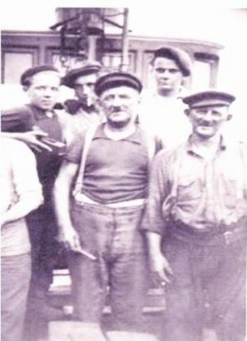 charpentier de navire à Fécamp
