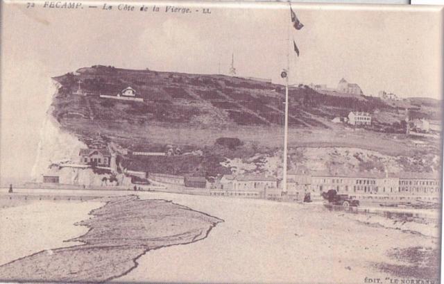 La Côte de la Vierge, l'entrée du Port
